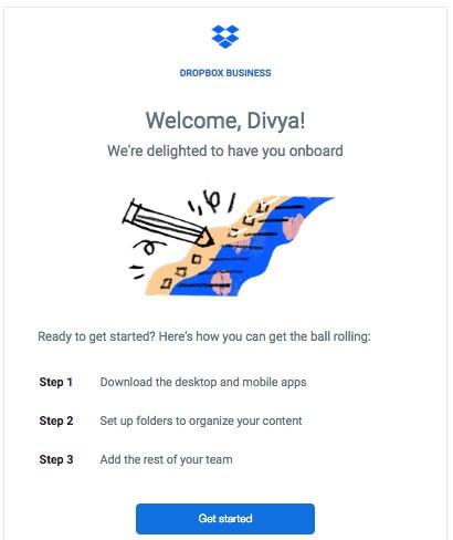 نمونه ایمیل خوش آمدگویی