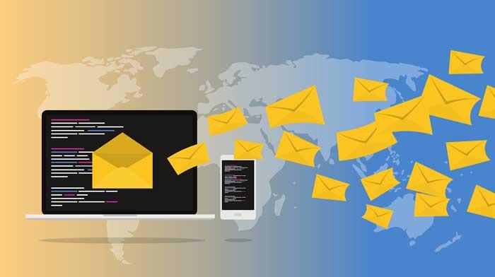 ارسال ایمیل بدون اسپم شدن